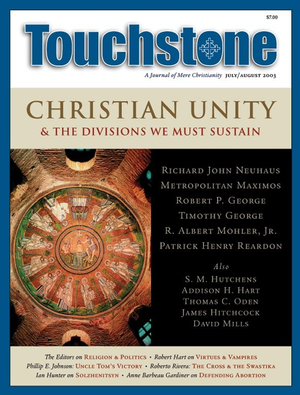 Touchstone July/August 2003