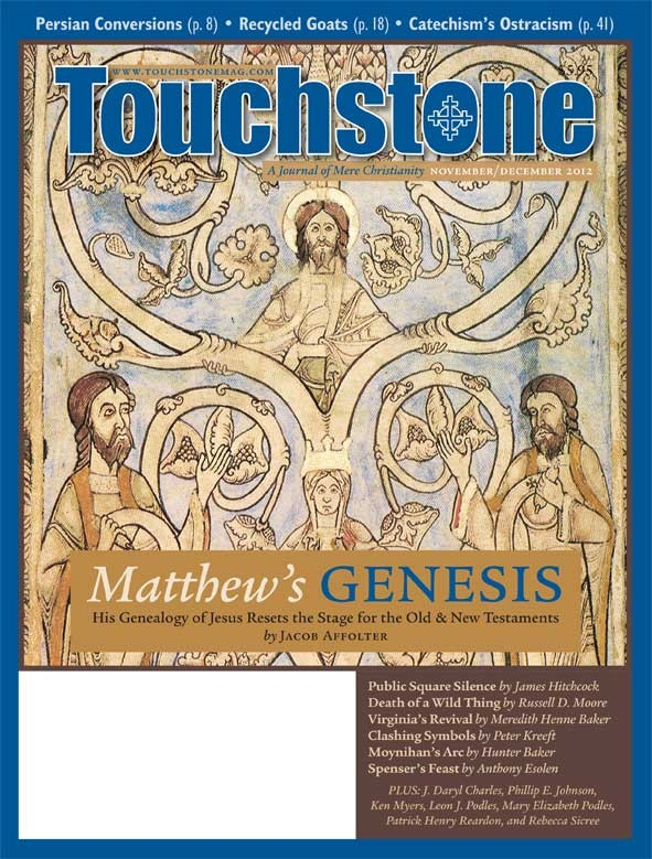 Touchstone November/December 2012