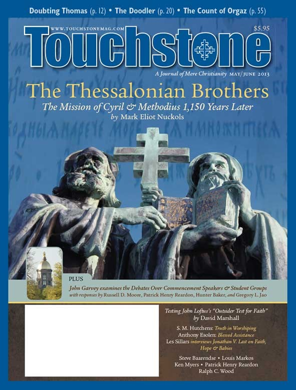 Touchstone May/June 2013